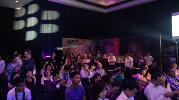 Launching of BlackBerry Z30 in Westin Hotel Kuala Lumpur