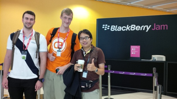 CrackBerry, N4BB and BBRY4U team are at BlackBerry Jam Asia 2013
