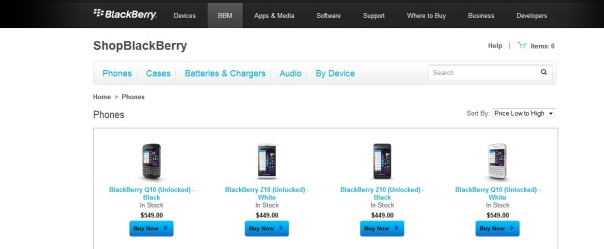 Looking to Buy your own BlackBerry phones?