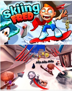 Skiing Fred is now available for all BlackBerry 10 smartphones