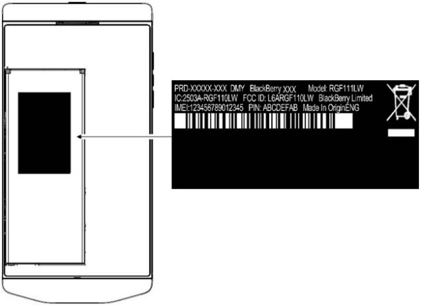 BlackBerry Porsche P'9982 spotted at FCC with AT&T LTE bands
