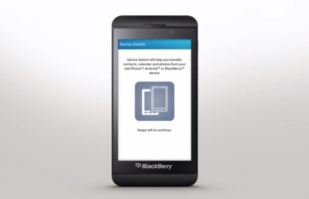 BlackBerry introduces Device Switch app that lets you transfer your data over-the-air for legacy devices