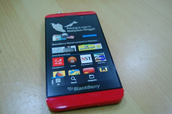 BlackBerry user will be able to load an APK on BlackBerry 10,  from the File Manager or Browser