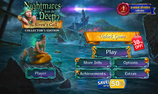 Nightmares from the Deep 2: The Siren's Call is here for BlackBerry 10