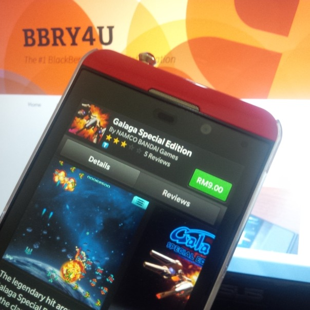 Two old classic games from Namco Bandai arrive at BlackBerry 10
