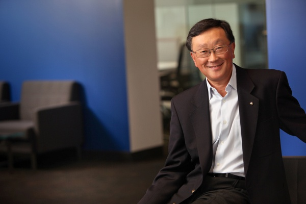 Message from BlackBerry Interim CEO John Chen: We are committed to reclaiming our success