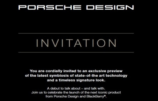 Porsche Design P'9982 launch event set for November 24th