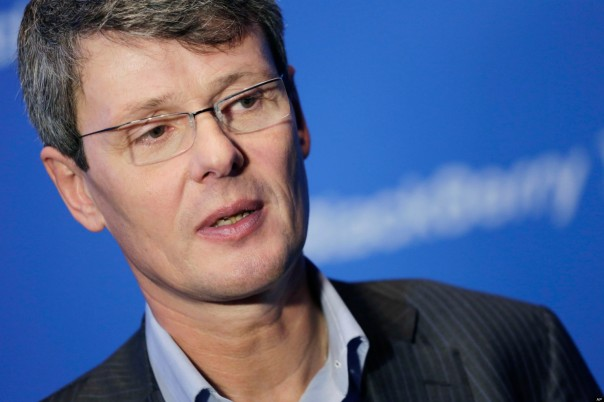 BlackBerry Employees gets Farewell Letter from Thorsten Heins