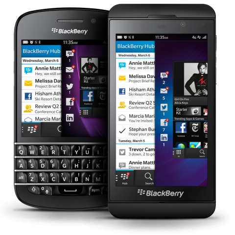 BlackBerry SEC filings confirm two BlackBerry 10 devices dropped
