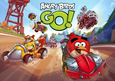 Angry Birds Go! Now Available on BlackBerry 10!