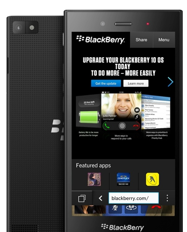 Alleged BlackBerry Z3 renders and specs surface!