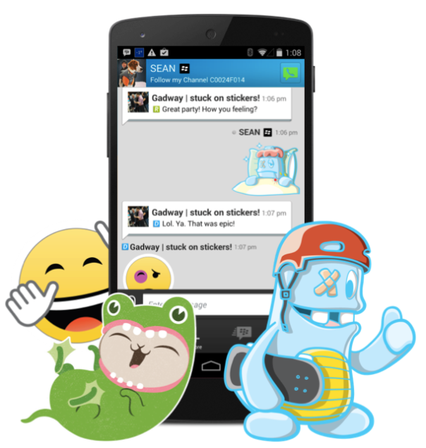 BBM Stickers Coming Soon to BBM Shop