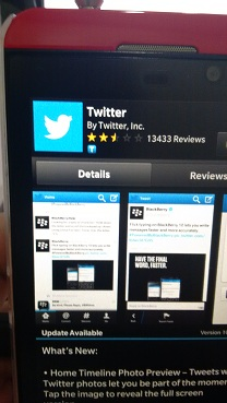 Twitter v10.3 for BlackBerry Making Its Debut – Adds Photos In DMs, Tweet Drafts, and More